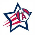 Los Angeles Angels of Anaheim Baseball Goal Star logo decal sticker