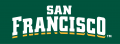 San Francisco Dons 2012-Pres Wordmark Logo 06 decal sticker