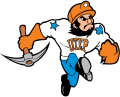 UTEP Miners 1992-2003 Mascot Logo decal sticker