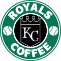 Kansas City Royals Starbucks Coffee Logo iron on sticker