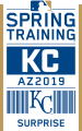 Kansas City Royals 2019 Event Logo decal sticker