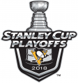 Pittsburgh Penguins 2017 18 Event Logo iron on sticker