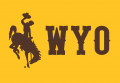 Wyoming Cowboys 2013-Pres Alternate Logo 03 iron on sticker
