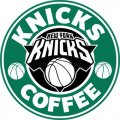 New York Knicks Starbucks Coffee Logo decal sticker