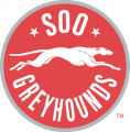 Sault Ste. Marie Greyhounds 2009 10-2012 13 Primary Logo iron on sticker
