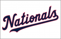 Washington Nationals 2020-Pres Jersey Logo decal sticker