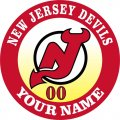 New Jersey Devils Customized Logo decal sticker