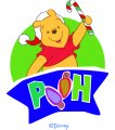 Disney Pooh Logo 22 decal sticker