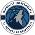 Minnesota Timberwolves 2018-2019 Anniversary Logo decal sticker