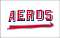 Wichita Aeros 1970-1971 Jersey Logo iron on sticker