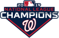 Washington Nationals 2019 Champion Logo decal sticker