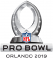 Pro Bowl 2019 Logo iron on sticker
