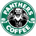 Florida Panthers Starbucks Coffee Logo iron on sticker