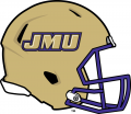 James Madison Dukes 2013-2016 Helmet decal sticker