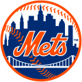 New York Mets 1999-Pres Primary Logo iron on sticker