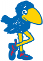 Kansas Jayhawks 1912-1919 Primary Logo iron on sticker