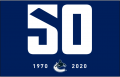 Vancouver Canucks 2019 20 Anniversary Logo iron on sticker