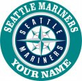 Seattle Mariners Customized Logo decal sticker