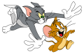 Tom and Jerry Logo 19 iron on sticker