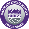 Sacramento Kings custom Customized Logo iron on sticker