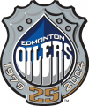 Edmonton Oiler 2003 04 Anniversary Logo decal sticker