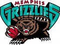 Memphis Grizzlies 2001-2003 Primary Logo decal sticker