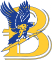 Bentley Falcons 1988-2012 Primary Logo decal sticker