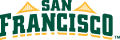 San Francisco Dons 2012-Pres Wordmark Logo 02 decal sticker