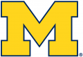 Michigan Wolverines 2012-Pres Primary Logo iron on sticker