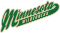 Minnesota Wilderness 2013 14-Pres Wordmark Logo decal sticker
