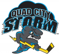 Quad City Storm 2018 19-Pres Primary Logo decal sticker