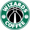 Washington Wizards Starbucks Coffee Logo decal sticker