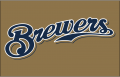 Milwaukee Brewers 2013-2015 Jersey Logo iron on sticker