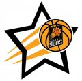 Phoenix Suns Basketball Goal Star logo iron on sticker