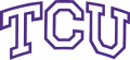 TCU Horned Frogs 1995-Pres Wordmark Logo 03 decal sticker