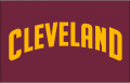 Cleveland Cavaliers 2010 11-2016 17 Jersey Logo decal sticker