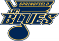 Springfield Junior Blues 2015 16-Pres Primary Logo decal sticker