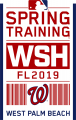 Washington Nationals 2019 Event Logo decal sticker