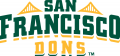 San Francisco Dons 2012-Pres Wordmark Logo decal sticker