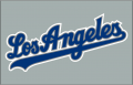 Los Angeles Dodgers 2002-2006 Jersey Logo decal sticker