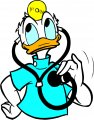 Donald Duck Logo 51 decal sticker