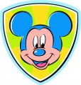 Mickey Mouse Logo 35 decal sticker