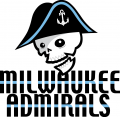 Milwaukee Admirals 2006 07-2014 15 Primary Logo iron on sticker