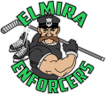 Elmira Enforcers 2018 19-Pres Primary Logo decal sticker