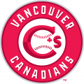 Vancouver Canadians 2014-Pres Primary Logo iron on sticker
