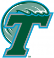Tulane Green Wave 1998-2013 Primary Logo decal sticker