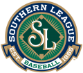 Southern League 2016-Pres Primary Logo decal sticker