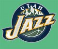 Utah Jazz Plastic Effect Logo decal sticker
