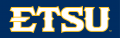 ETSU Buccaneers 2014-Pres Wordmark Logo 07 iron on sticker