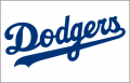 Los Angeles Dodgers 2003-Pres Jersey Logo decal sticker